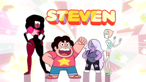 Throwing-Popcorn-Steven-Universe-Banner