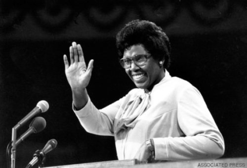 U.S. Rep. Barbara Jordan of Texas responds to plaudits of the Democratic National Convention before starting her keynote speech in New York City on July 12, 1976.  (AP Photo)